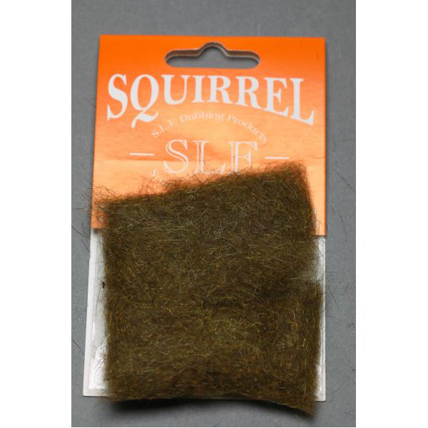 Wapsi SLF Squirrel Dubbing Brown Olive