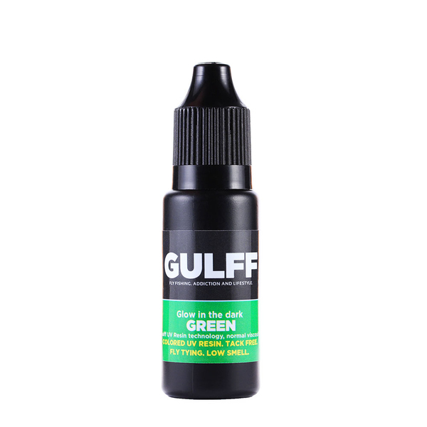 Gulff Color Resin Glow In The Dark Green