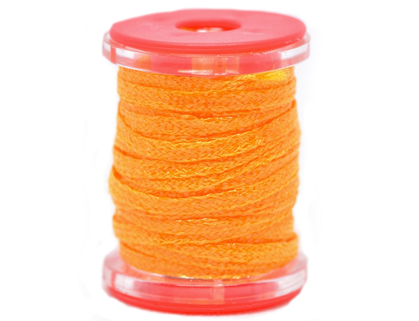 Future Fly Metallic Flat Braid Fluo Orange