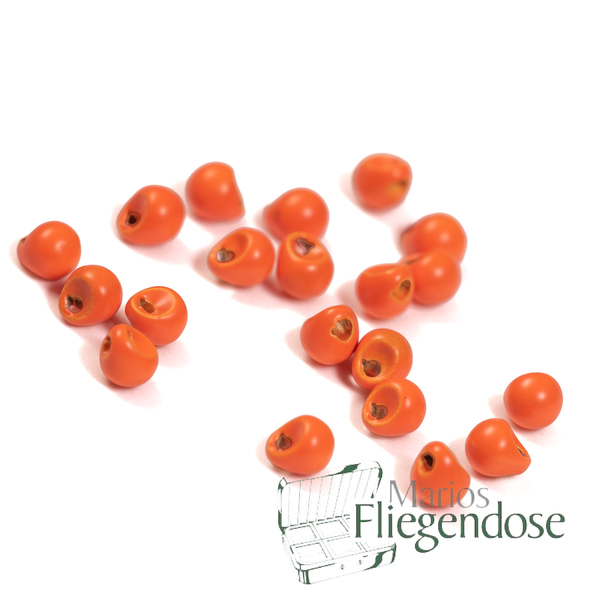 Tungsten Off Beads Orange