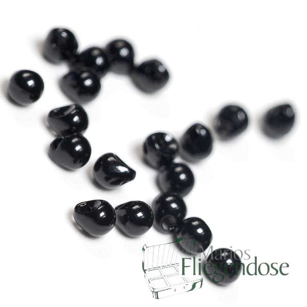Tungsten Off Beads Black