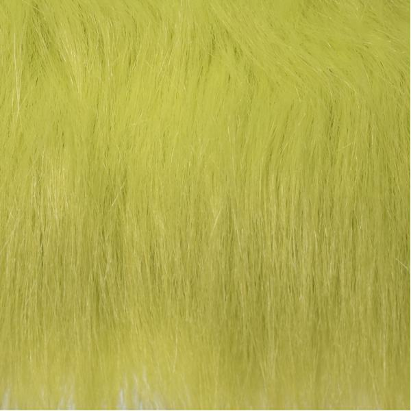 Fly Scene Craft Fur Long Chartreuse