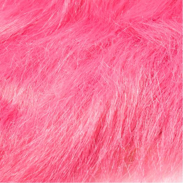 Fly Scene Craft Fur Long Pink