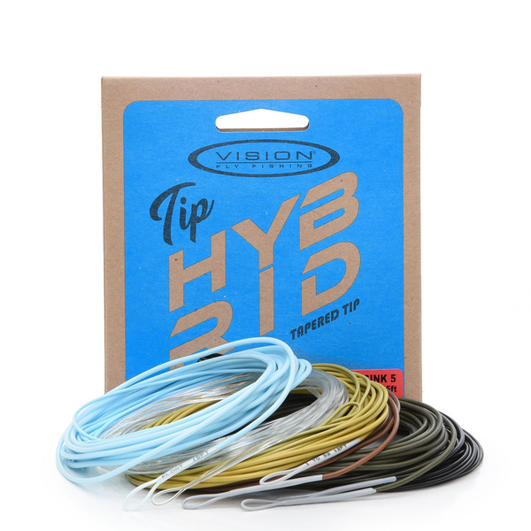Vision Hybrid Tips 10 ft Clear Intermediate