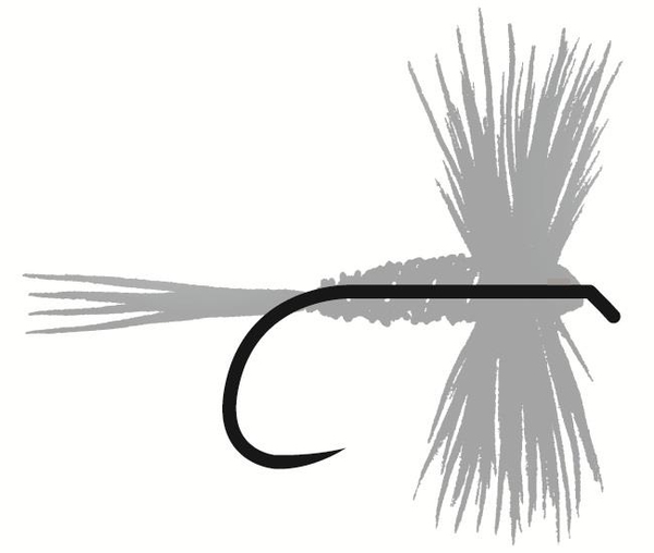 Tunca Expert Barbless Fliegenhaken TE15 Wide Gape Dry Fly