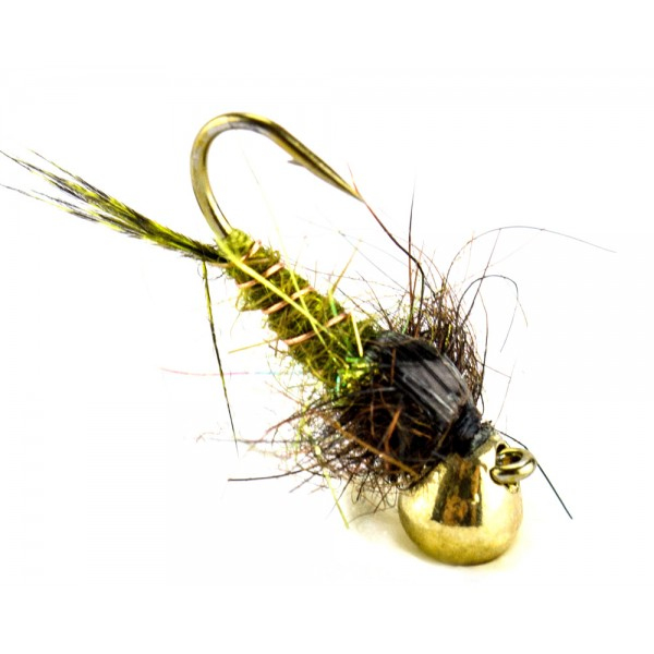 Tungsten Trout Trap Olive 14