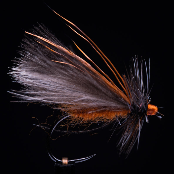CDC Caddis Ginger 14
