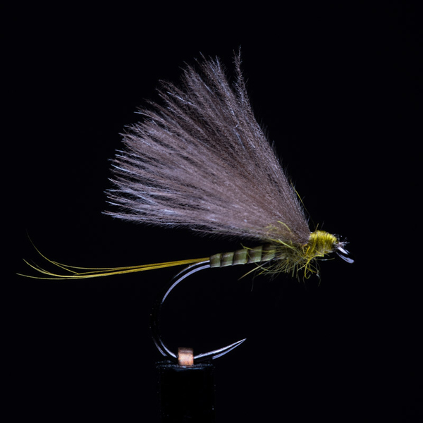 Quill Body BWO Golden Olive 18