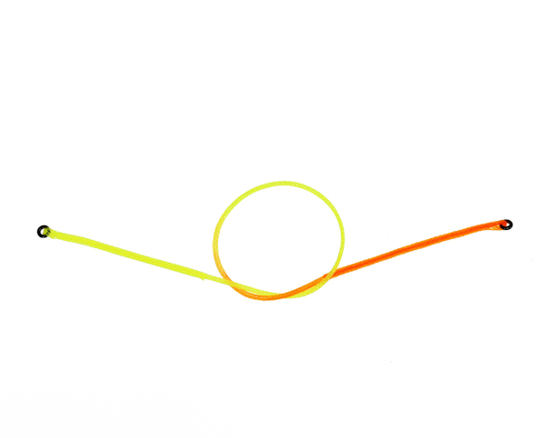 Nymph Strike Indicator Fluo Yellow/Orange