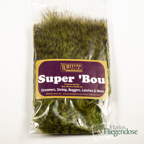 Whiting Super Bou Grizzly Olive