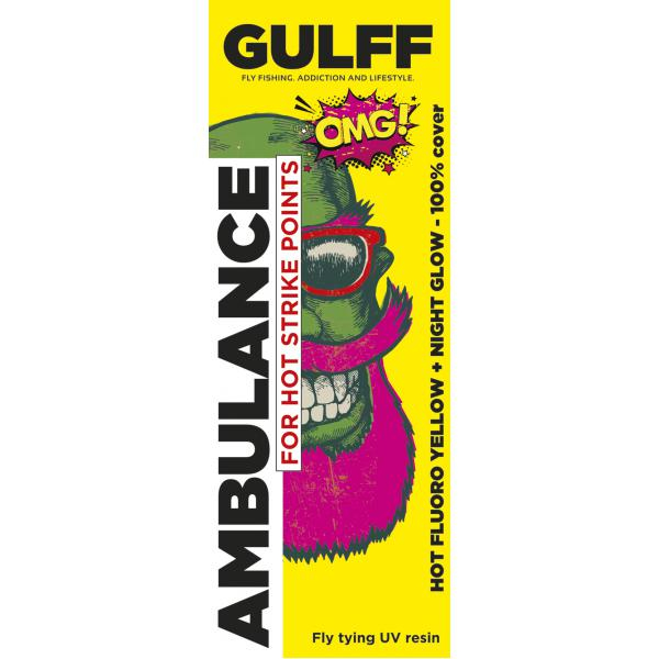 Gulff 15mm Ambulance Hot Yellow