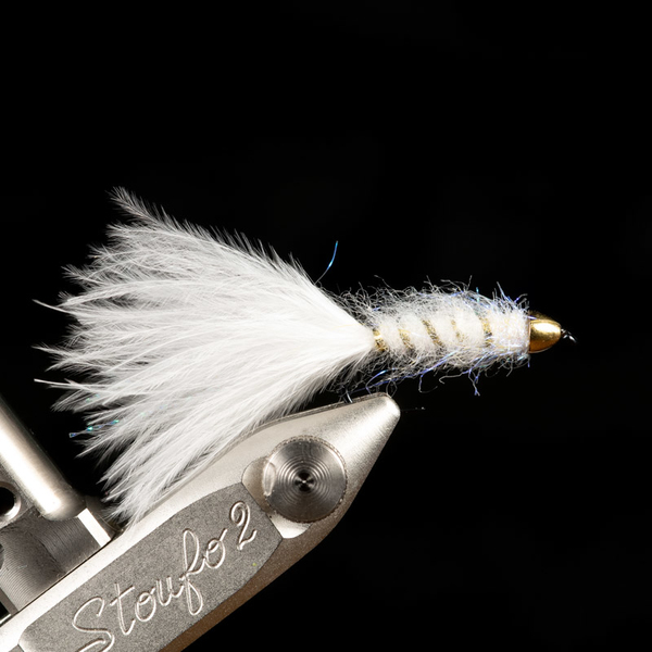 Marabou Rocket White (Conehead Gold)