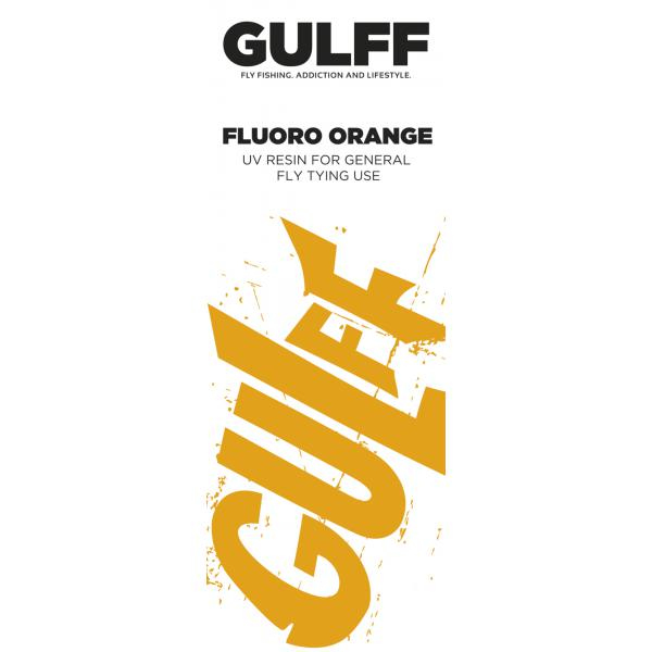 Gulff 15mm Fluoro Orange