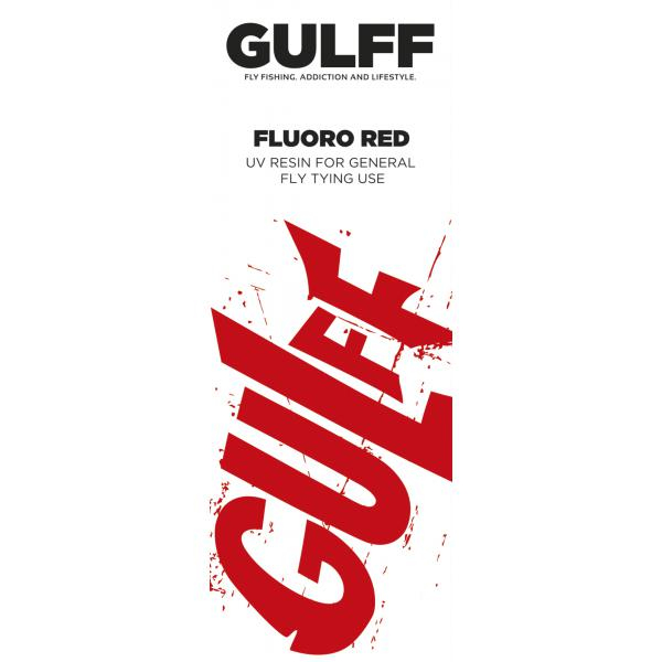 Gulff 15mm Fluoro Red